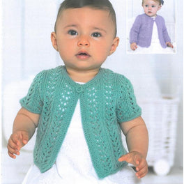 Baby / Childrens Cardigans in Sirdar Snuggly 4ply