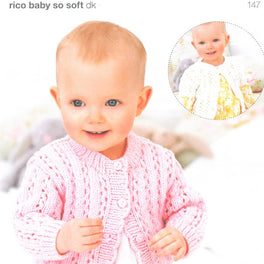 Cardigans in Rico Baby So Soft DK (147)