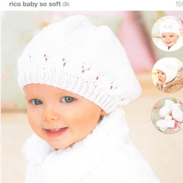 Childrens' Hats, Mittens & Bootees in Rico Baby So Soft DK (151)