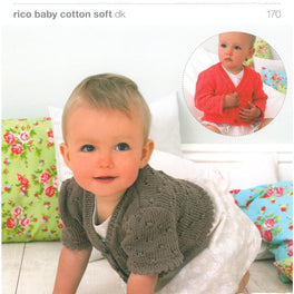 Cardigans in Rico Baby Cotton Soft Dk (170)