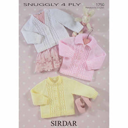 Cardigans in Sirdar Snuggly 4ply - Digital Version