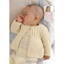 Cardigans in Sirdar Snuggly Baby Bamboo DK - Digital Version