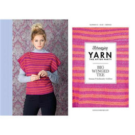 Yarn The After Party 33 Big Winged Tee by Emma Friedlander-Collins