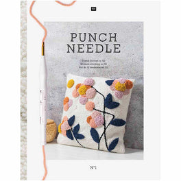 Rico Punch Needle Book and Patterns
