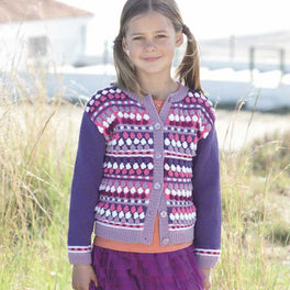 Childrens Cardigan in Sirdar Wash 'n' Wear Double Crepe Dk - Digital Version