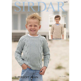 Sweaters in Sirdar Supersoft Aran - Digital Version