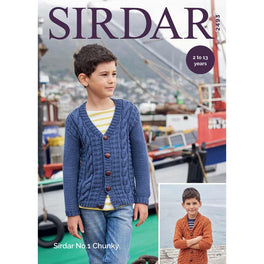 Cardigans in Sirdar No1 Chunky - Digital Version