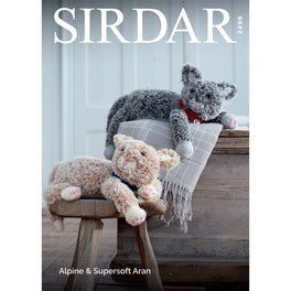 Cats in Sirdar Alpine and Sirdar Supersoft Aran - Digital Version