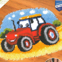 Tractor Latch Hook Rug Kit