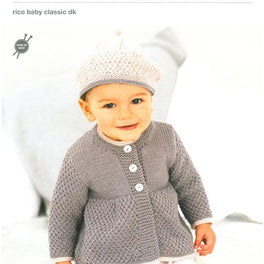 Coats and Berets in Rico Baby Classic Dk (296)