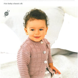 Cardigans in Rico Baby Classic Dk (297)