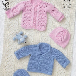 Jackets, Hats and Blanket in King Cole Dk