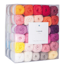 Rico Ricorumi Colour Pack - 60 25g balls of yarn