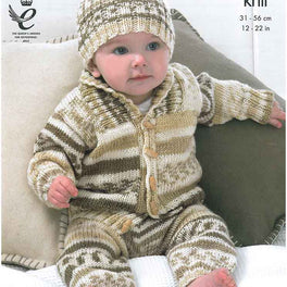 Babies' Outdoor Set in King Cole Cherish DK