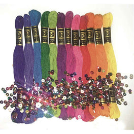 Zenbroidery Brights Trim Pack 12