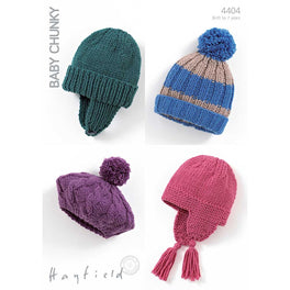 Hats in Hayfield Baby Chunky - Digital Version