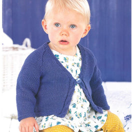 Childrens Cardigans in Sirdar Snuggly Baby Bamboo DK - Digital Version