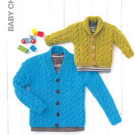 Babys Cardigans in Hayfield Baby Chunky - Digital Version