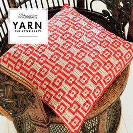 Yarn The After Party 46 Electric Dreams Cushion by Esme Crick