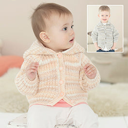 Jackets in Sirdar Snuggly Baby Crofter DK - Digital Version