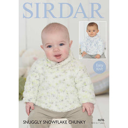 Sweaters in Sirdar Snuggly Snowflake Chunky - Digital Version