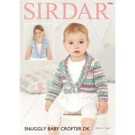 Cardigans in Sirdar Snuggly Baby Crofter DK - Digital Version