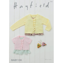 Cardigans in Hayfield Baby Double Knitting - Digital Version