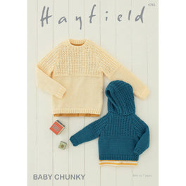 Sweaters in Hayfield Baby Chunky - Digital Version