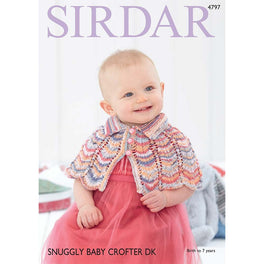 Capes in Sirdar Snuggly Baby Crofter DK - Digital Version