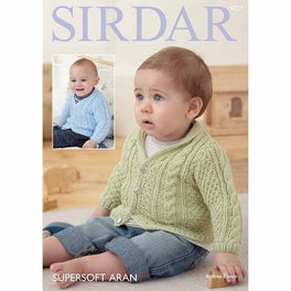 Cardigans in Sirdar Supersoft Aran - Digital Version