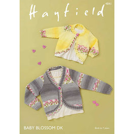 Cardigans in Hayfield Baby Blossom DK - Digital Version