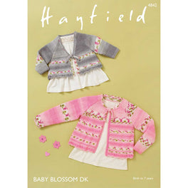 GirlsTops in Hayfield Baby Blossom DK - Digital Version