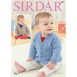 Cardigans in Sirdar No1 - Digital Version