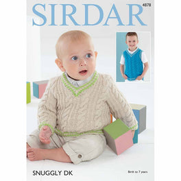 Sweater and Tank Top in Sirdar Snuggly DK - Digital Version