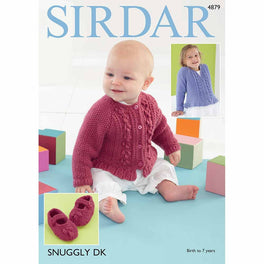 Cardigans and Shoes in Sirdar Snuggly DK - Digital Version