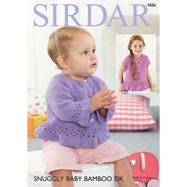 Jackets in Sirdar Snuggly Baby Bamboo DK - Digital Version