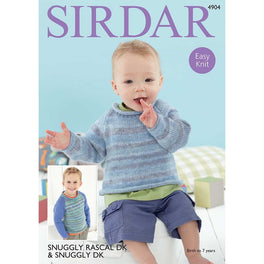 Sweaters in Sirdar Snuggly Rascal DK & Snuggly DK - Digital Version