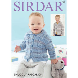 Cardigans in Sirdar Snuggly Rascal DK - Digital Version