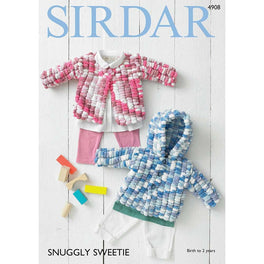 Cardigans in Sirdar Snuggly Sweetie - Digital Version