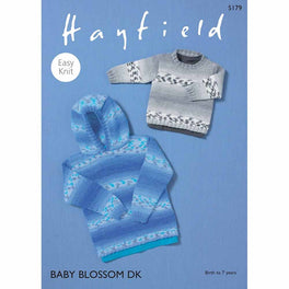 Sweaters in Hayfield Baby Blossom DK - Digital Version