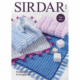 Blankets in Sirdar Snuggly Sweetie & Snuggly DK - Digital Version