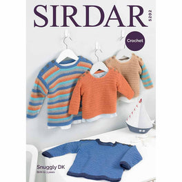 Sweaters in Sirdar Snuggly Dk - Digital Version
