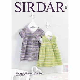 Dresses in Snuggly Baby Crofter Dk - Digital Version