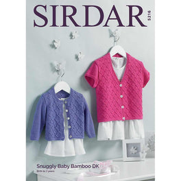 Sweaters in Sirdar Snuggly Baby Bamboo DK - Digital Version
