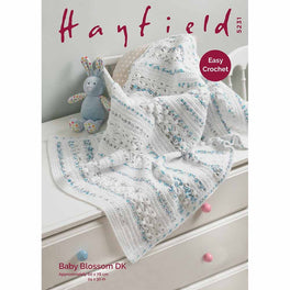 Blanket in Hayfield Baby Blossom DK - Digital Version