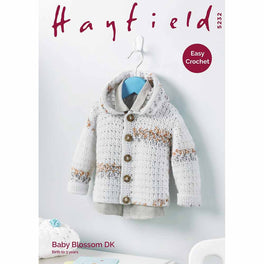 Jacket in Hayfield Baby Blossom DK - Digital Version