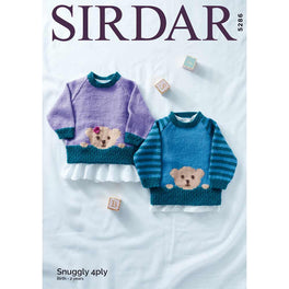 Sweaters in Sirdar Snuggly 4ply