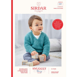 Sweaters in Sirdar Snuggly Bunny