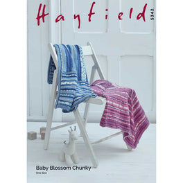 Blankets in Hayfield Baby Blossom Chunky