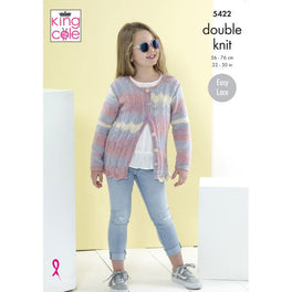 Cardigans in King Cole Beaches Dk